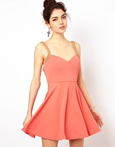 #asos                     #love                     #Love #Sweetheart #Neckline #Skater #Dress          Oh My Love Sweetheart Neckline Skater Dress                                   http://www.seapai.com/product.aspx?PID=1313066