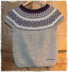 Hjerte GO`H Design: Marius-mønster Norwegian Knitting, H Design, Sweaters, Handmade, Fashion, Moda, Hand Made, Fashion Styles, Sweater
