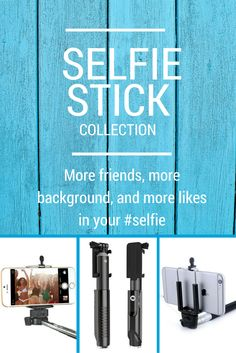 Look what I found on Minisuit! They have so many colors and at least 3 different models of selfie sticks. Even fits my Gopro!