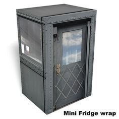 Web Image Gallery Passenger car mini fridge wrap click on the image to order one