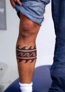 Entertainment: Men leg tattoos ideas