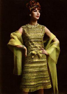 Christian Dior. L'Officiel Magazine 1961