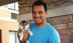 Detroit Lions star Joseph Fauria sprained his ankle chasing his puppy