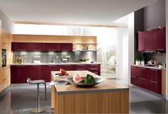 Rote Küchen on Pinterest