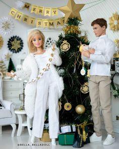 Bad Barbie, Barbie Life, Doll Clothes Barbie, Barbie Doll House, Barbie Wedding Dress, Barbie Dress, Barbie Horse, Christmas Barbie, Christmas Tree