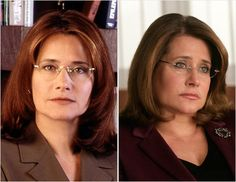 Dr. Melfi. Awesome role! I really enjoyed a lot of her sessions with Tony. They were always very unpredictable. I love how the show gave a therapeutic point of view, because i love Psychology so much. I couldnt imagine treating a mobster. Wait! Yes i can!