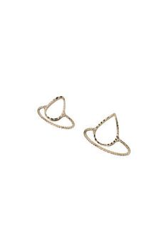 From Topshop , this duo of Cut -Out Tear Drop Rings is the perfect add on to any outfit. not only having the choice of a midi ring or a finger ring this duo is only £5.00!