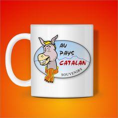 Mug au Pays Catalan au couleur de la Catalogne