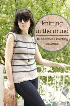 Knitting with Circular Needles: 10 Patterns for Practice | AllFreeKnitting.com