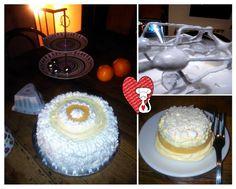 Ricette e Segreti in Cucina : Torta all'ananas con meringa, crema diplomatica e ...