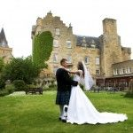 Dornoch Castle in Scotland