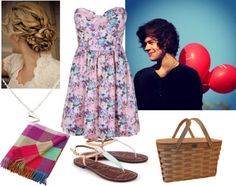 """""""Picnic with Harry"""" by niallhoran101 ❤ liked on Polyvore"""