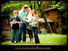 www.corinnahoffman.com Family Photo Session - Asheville, North Carolina - Cabin, Rustic, Nature -  #family #photography #asheville #nature