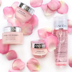 lancomeofficial: Inhale calmness exhale stress. Pamper yourself with the Hydra Zen collection.