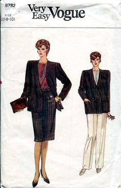 Vogue sewing patterns  Office style