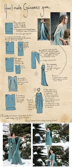 Guinevere's Gown I love this dress! i have always wanted one of my own!: