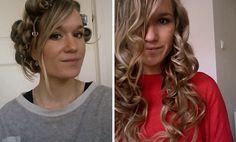 Making big, voluminous curls without any heat-damage! krullen maken zonder krultang (geen hitte)!