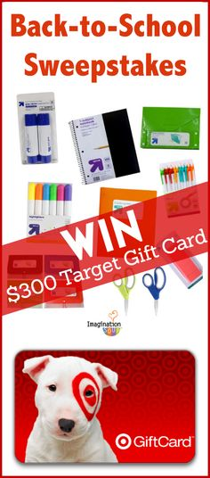 Love this target promotion gives us a chance to win some extra cash for back to school items!  Ina fowler