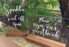 Cards & Gifts Perspex Acrylic Love Quote / Wedding by Chalknco
