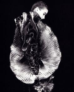 Krizia, American Vogue, December 1987. Photograph by Giovanni Gastel.