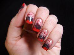 Shredded needle drag nails