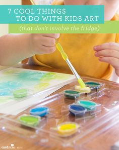 7 cool things to do with kids art (that don't involve the fridge) | Cardstore Blog