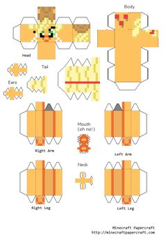 Minecraft Stampy Coloring Pages Stampy Cat Minecraft, Minecraft Toys, Minecraft Stuff, Papercraft Minecraft Skin, Paper Toys, Paper Crafts, Little Poni, Minecraft Birthday Party, Free Coloring Pages
