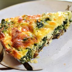 Oven Baked Spinach and Mushroom Tart Recipe on Yummly. @yummly #recipe Quiche Sans Croute, Mushroom Quiche, Spinach And Mushroom, Spinach Mushroom Omelette, Mushroom Tart, Spinach Stuffed Mushrooms, Sliced Mushrooms, Spinach Feta Quiche, Spinach Tart