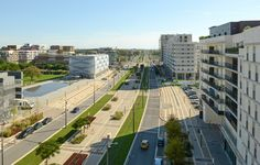 Avenue Raymond Durgand à Port Marianne - architecture Studio