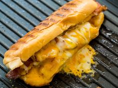 Grilled Cheese Hot Dogs - Spicy Southern Kitchen Grilling Recipes, Seafood Recipes, Vegetarian Recipes, Cooking Recipes, Sausage Recipes, Easy Cooking, Dinner Recipes, Grilled Cheese Hot Dog, Cheese Dog