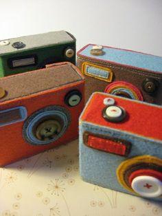 Felt cameras