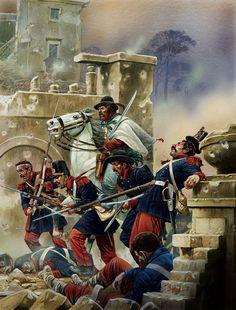 Villa Corsini, siege of Rome, 1849