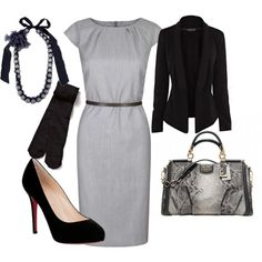 """Black and White Classic"" by taniacv on Polyvore"