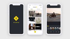 Live Design & Prototype: Photo Editing App in Adobe XD (2 of 2) Navigation Design, Ui Ux Design, Layout Design, Slider Design, Welcome Design, Photo Layers, Adobe Xd, Learn To Code, Screen Design