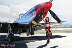 Collection of Aviation Pin Up and Nose Art copyrights belong to their respective owners. These are images I've found publicly accessible while browsing the Internet, unless otherwise stated. Military Pins, Military Art, Look Rockabilly, Old Planes, Airplane Art, Retro Pin Up, Pin Up Photography, Pin Up Models, Armada
