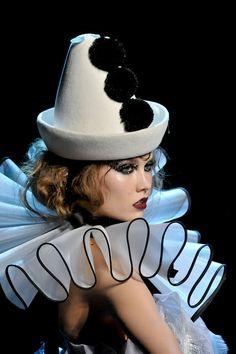 Christian Dior clown couture