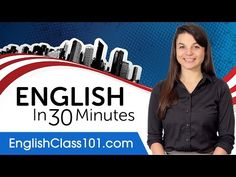 (22) Learn English in 30 Minutes - ALL the English Basics You Need - YouTube