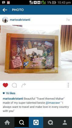 "Testimoni for ""Travel Themed Scrapbook Mahar"""