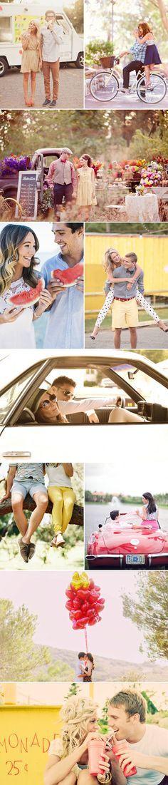 35 Summer Lifestyle Engagement Photo Ideas - Praise Wedding