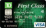 TD First Class Visa Infinite Card Review