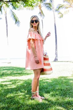 DRESS MADE BY ME (ALMOST IDENTICAL DRESS HERE AND AN OPTION UNDER $40 HERE AND HERE )   GOLD GLADIATOR SANDALS   STRAW POM POM TOTE BAG   SUNGLASSES !function(doc,s,id){ var e, p, cb; if(!doc.getElementById(id)) { e = doc.createElement(s); e.id = id; cb = new Date().getTime().toString(); p = '//shopsensewidget.shopstyle.com/widget-script.js?cb=1466054844186?cb=' + cb; e.src = p; doc.body.appendChild(e); } if(typeof window.ss_shopsens...