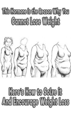 This Hormone Is the Reason Why You Cannot Lose Weight: Here's How to Solve it and Encourage Weight Loss
