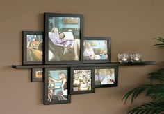 14 Styles to Arrange Family Frames And Share Unforgettable Moments - Top Inspirations Decor, Entertainment Wall, Family Frames, Wall, Home Decor, Family Photo Frames, Frame, Wall Design, Picture Canvas Decor