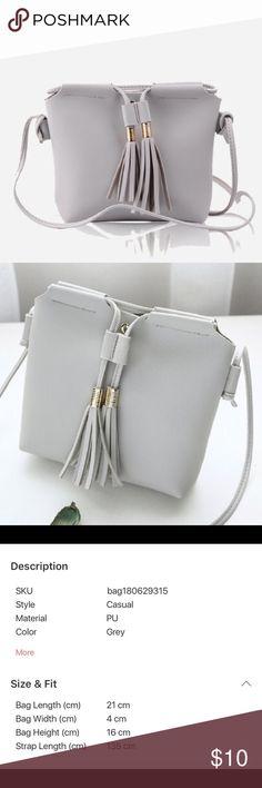 0cb74a28d0 Tassel Detail Small Crossbody Bag NWT Super cute - make sure the dimensions  shown above match