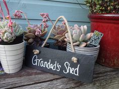 Personalised Slate Sign from notonthehighstreet.com