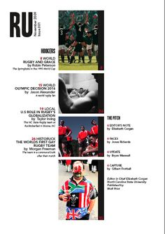 magazine table of contents images   Table of contents: Encounter ...