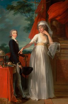Jean Laurent Mosnier, 1743/44-1808, French, active in Britain (1790-1796), Margaret Callander and Her Son James Kearney, 1795,