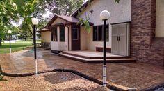 Concrete Patios, Stamped Concrete, Deck, Outdoor Decor, Home Decor, Decoration Home, Room Decor, Front Porches, Home Interior Design