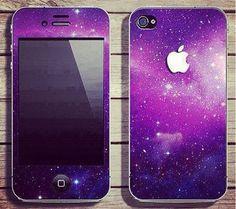 Galaxy wallpaper iPhone case.