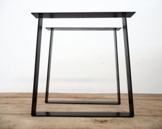 15 X 21 Trapezoid-IN Flat Steel Table Legs Height 12 by Balasagun
